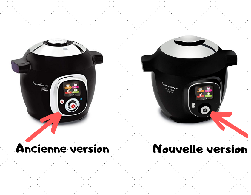 difference entre cookeo + et ancienne version