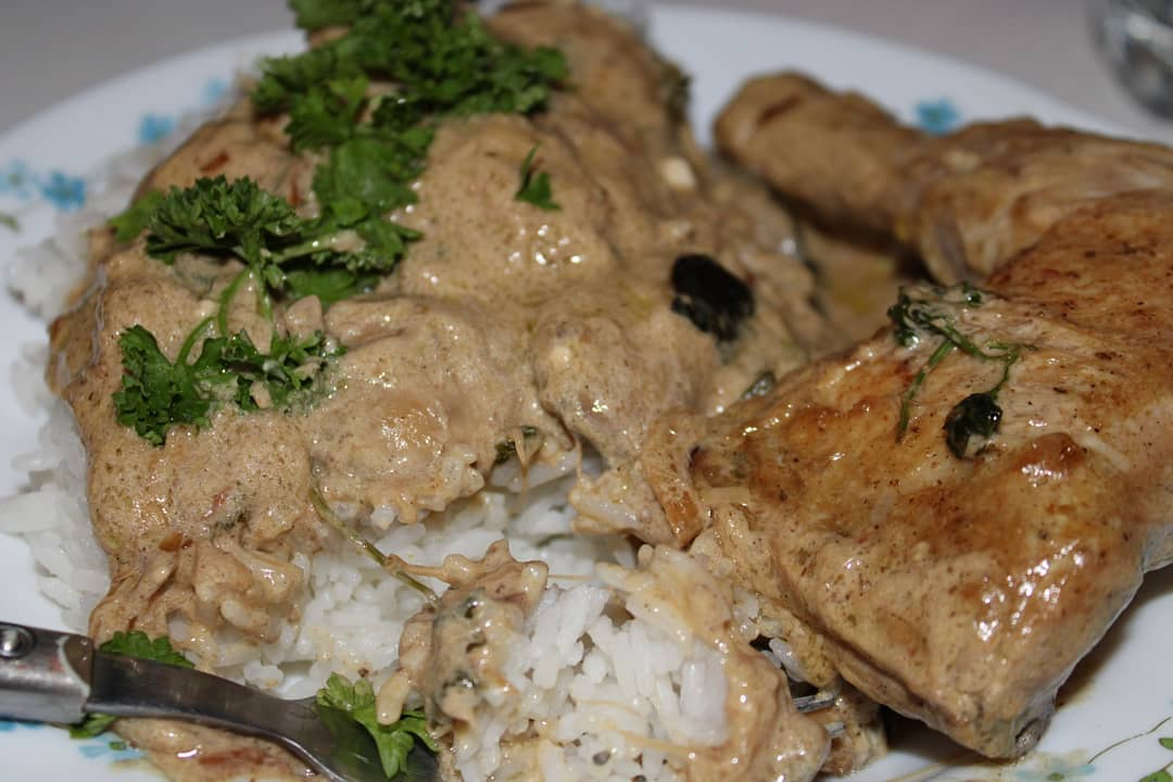 recette poulet cookeo